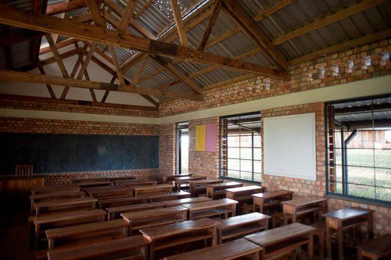 Interior of school