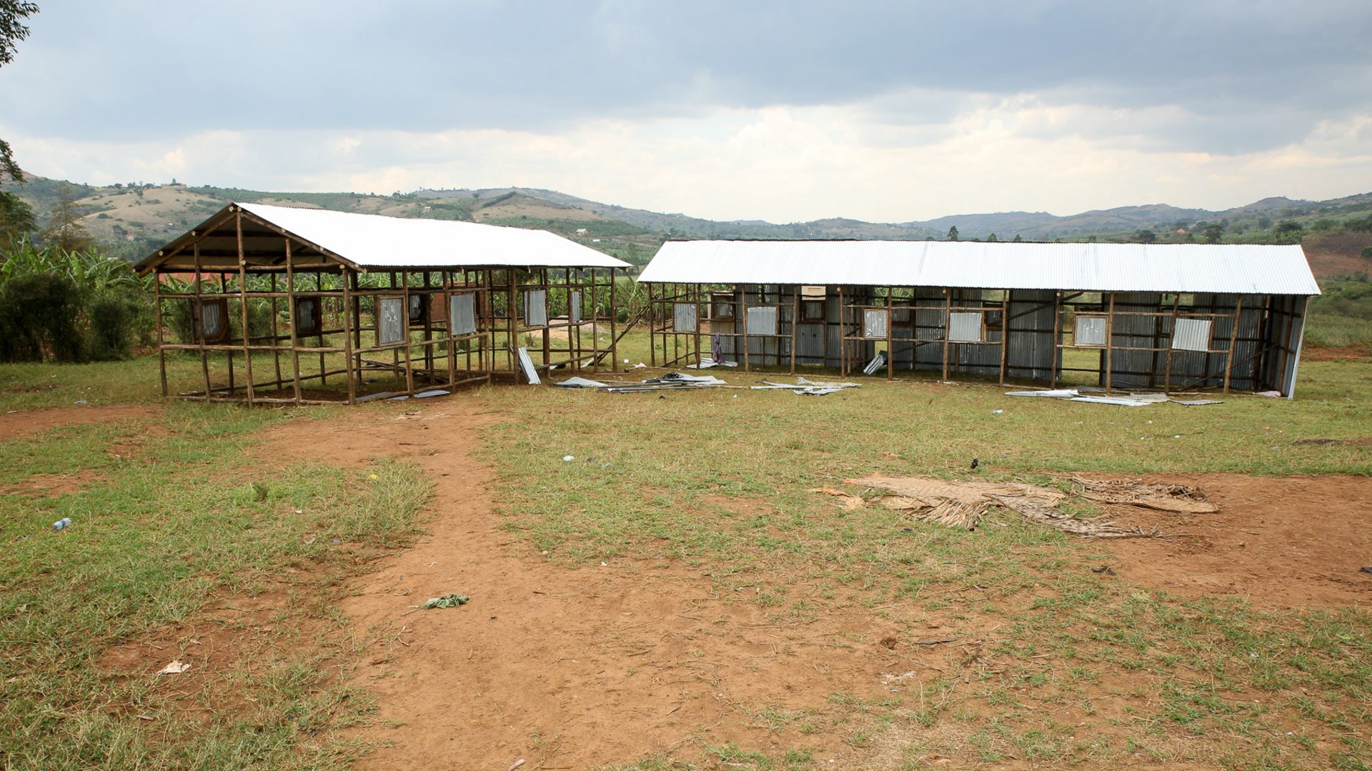 Temporary kindergarten structures